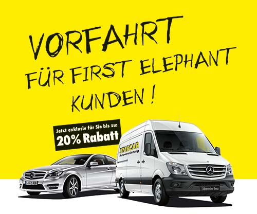 Starcar First Elephant Sonderaktion