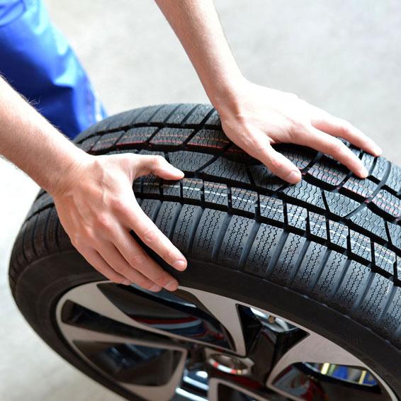 Einlagerung Reifen