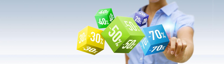 Aktionen, Preistipps und Sonderangebote, wenn Sie Bares sparen wollen!
