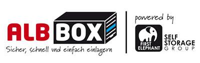 Selfstorage Albstadt Logo Albbox