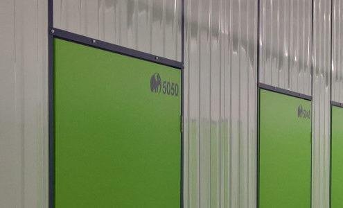 Privat lagern in modernen Lagerhallen